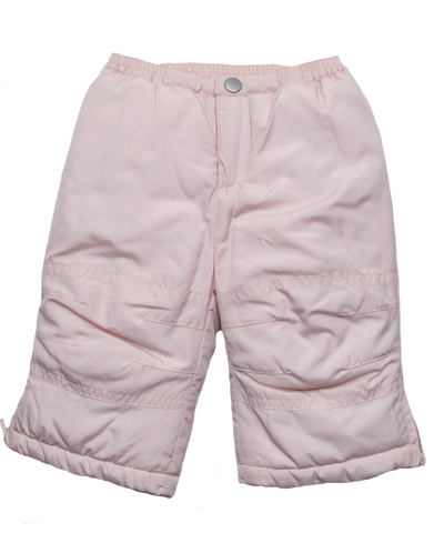 Quilted Snow Pant in Pink