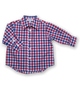 Shirt in Red/Navy Check
