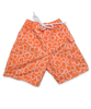 Swim Trunks in Aurora Floral Orange