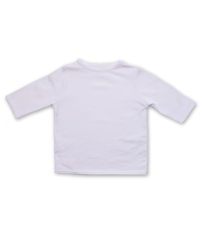 Boatneck Tee in White
