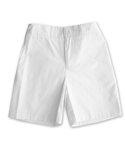 Cotton Short in White