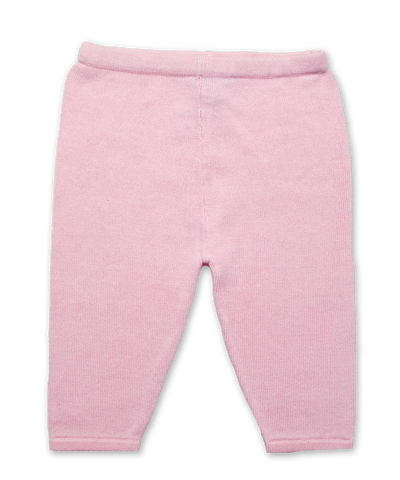 Cotton Knit Legging in Pink
