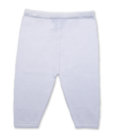 Cotton Legging in White