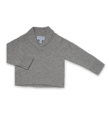Cashmere Nicky Sweater in Silver