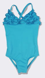 Gabrielle bathing suit in turquoise
