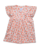 Bridgette Dress in Coral Blossom