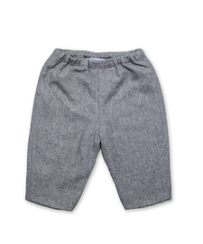 Baby Pant in Silver Tweed