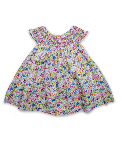 Evie Dress in Liberty Summer Posy