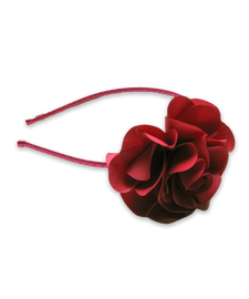 Flower Headband in Red