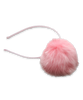 Mink Puff Headband in Pink