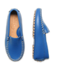Boy's Leather Moccasin in Capri