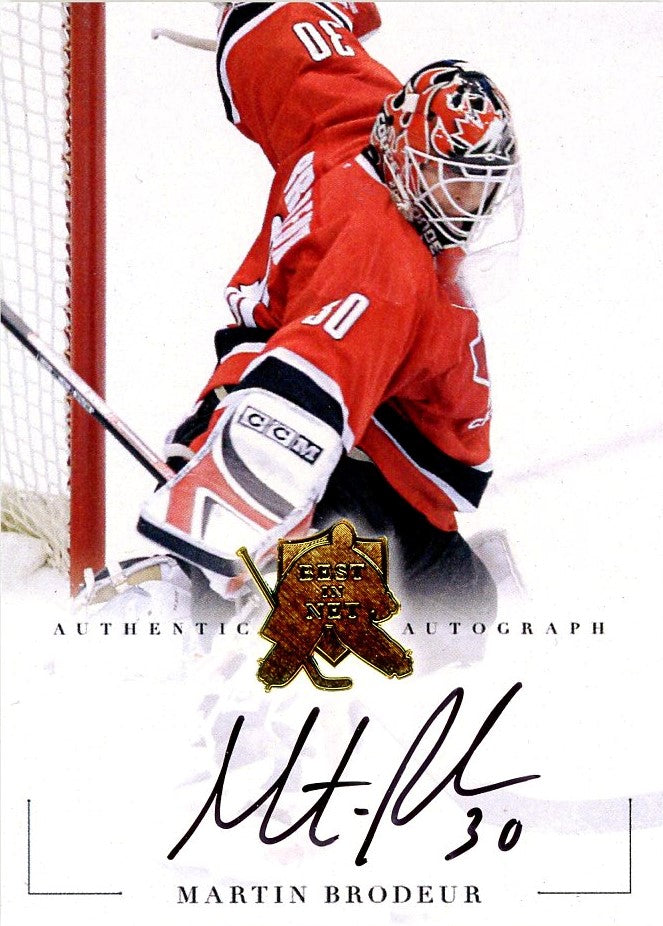 Martin Brodeur Autograph 5 President S Choice Trading Cards