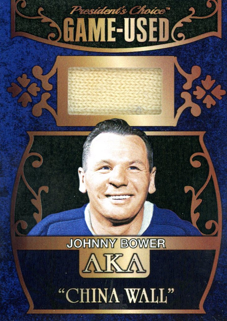 Johnny Bower AKA #'d 3/5