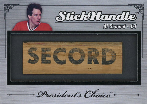 Al Secord StickHandles 1/1