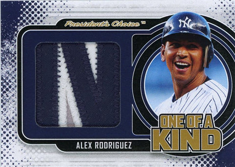 Alex Rodriguez One of A Kind 1/1