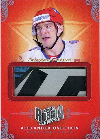 Alexander Ovechkin Game-Used Stick /3