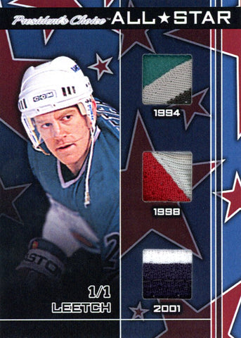 Brian Leetch All-Star 1/1