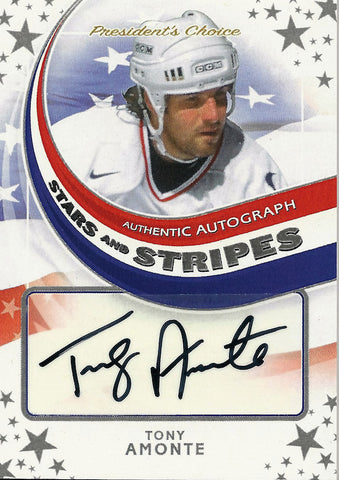 Tony Amonte Signed Autograph 1/1