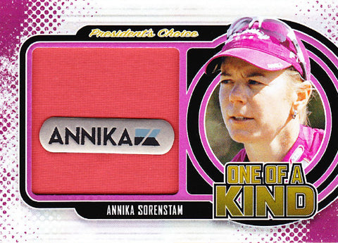 Annika Sorenstam One of a Kind 1/1