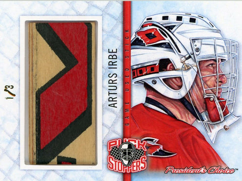 Arturs Irbe PuckStoppers /3