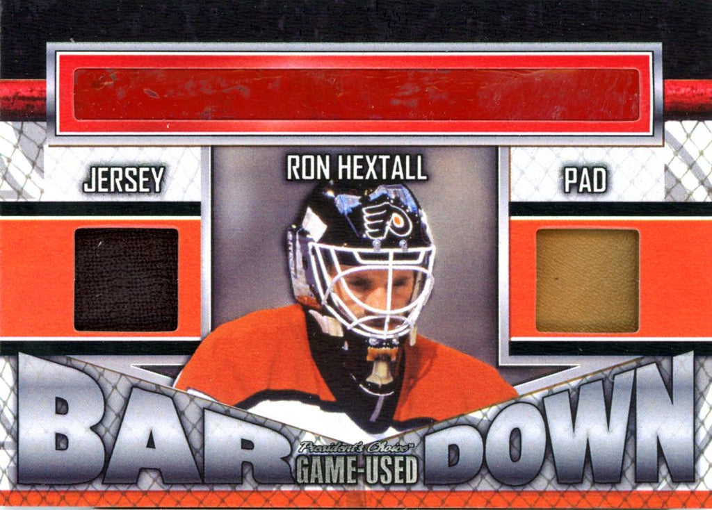 Ron Hextall Bar Down #'d 2/5