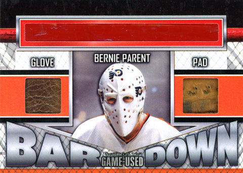 Bernie Parent Bar Down #'d 1/3