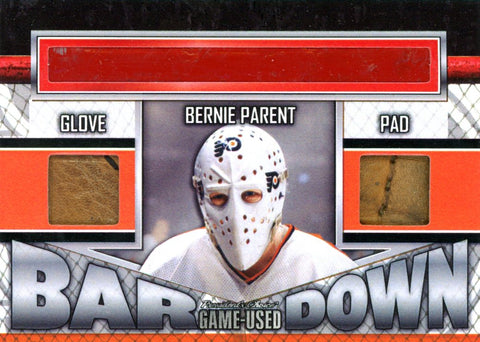 Bernie Parent Bar Down #'d 2/3