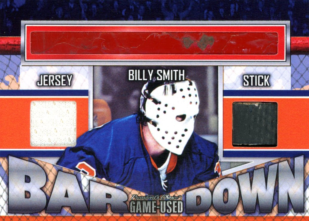 Billy Smith Bar Down #'d 2/5