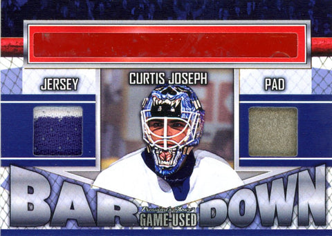 Curtis Joseph Bar Down #'d 2/5