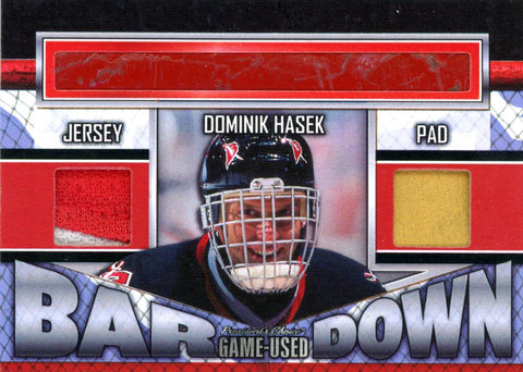 Dominik Hasek Bar Down #'d 1/5