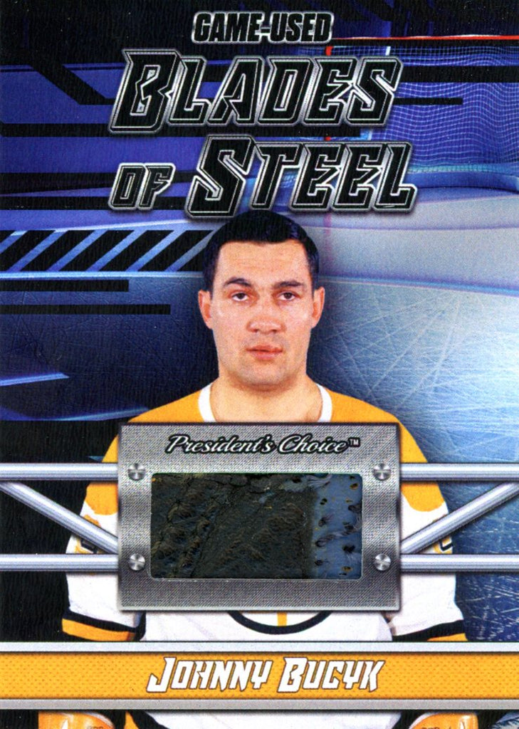 Johnny Bucyk Blades of Steel #'d 3/5