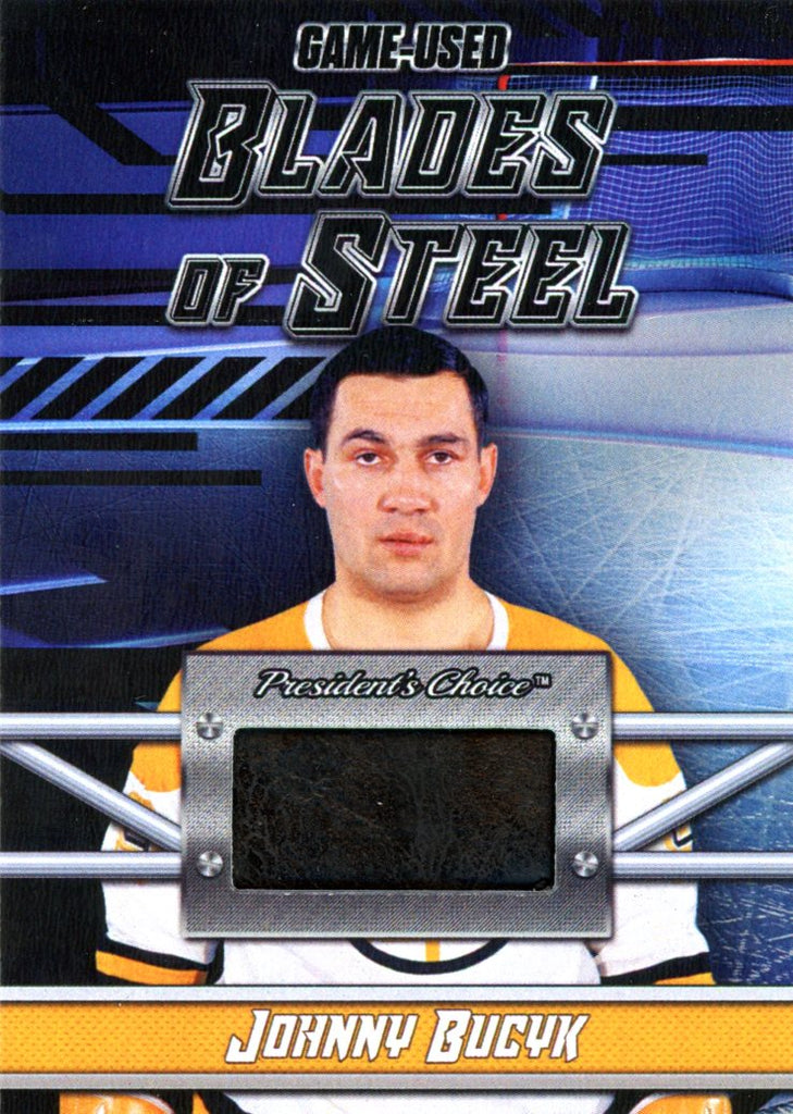 Johnny Bucyk Blades of Steel #'d 4/5