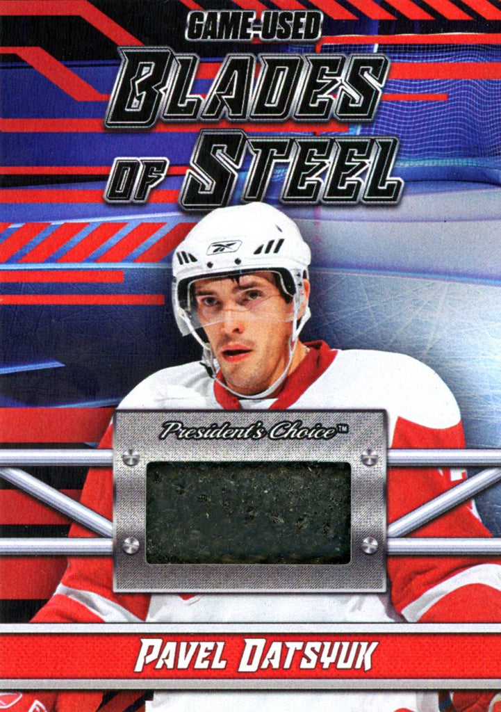 Pavel Datsyuk Blades of Steel #'d 2/5