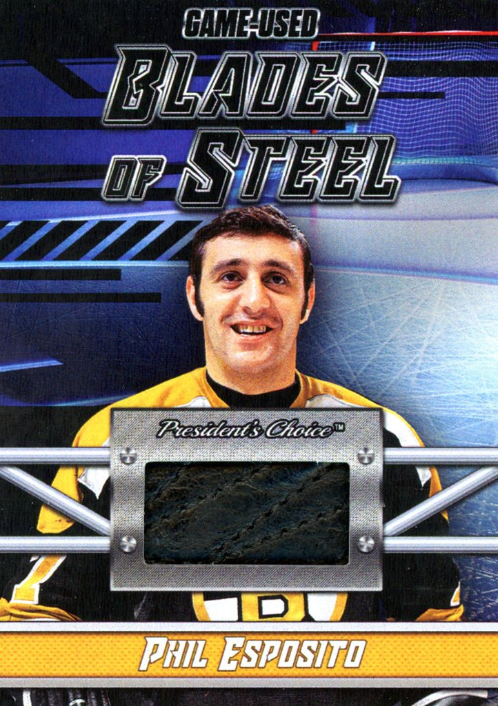 Phil Esposito Blades of Steel #'d 1/5
