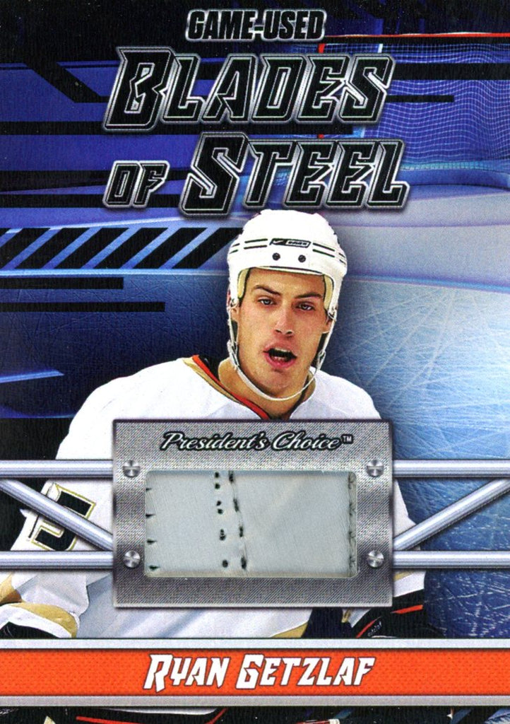 Ryan Getzlaf Blades of Steel #'d 3/5