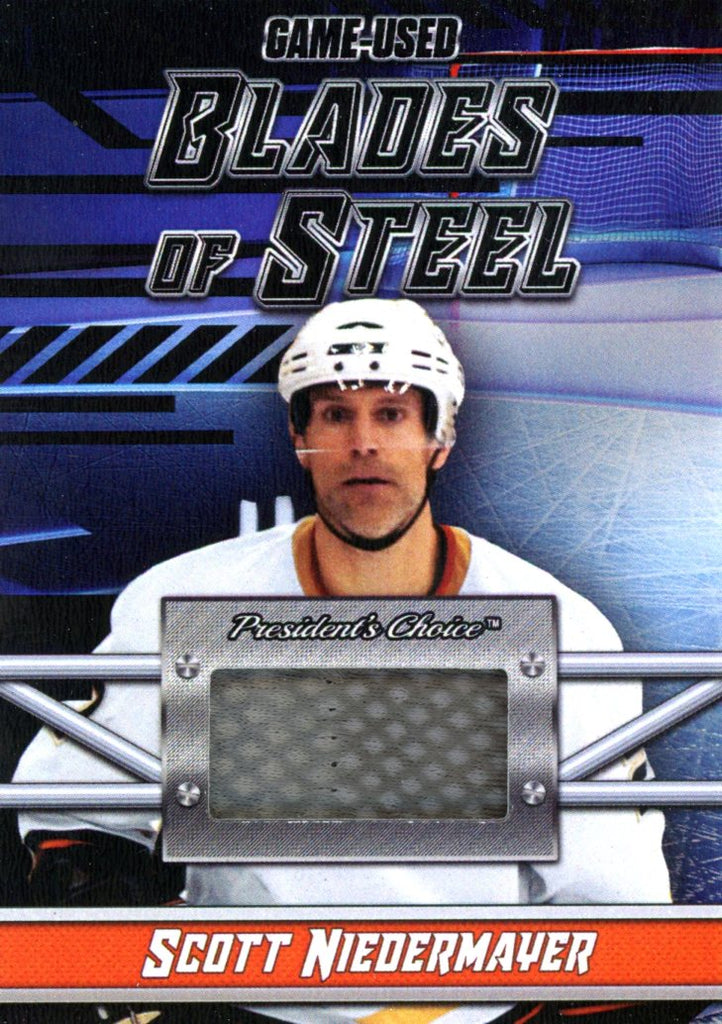 Scott Niedermayer Blades of Steel #'d 4/5