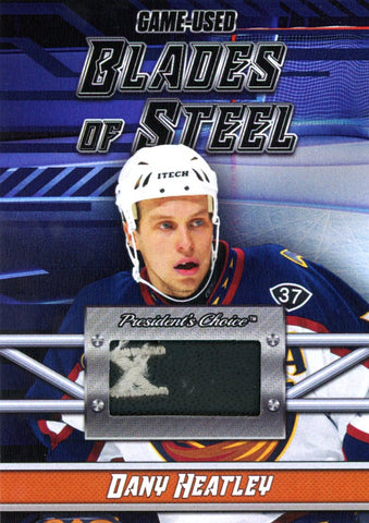 Dany Heatley Blades of Steel #'d 1/5