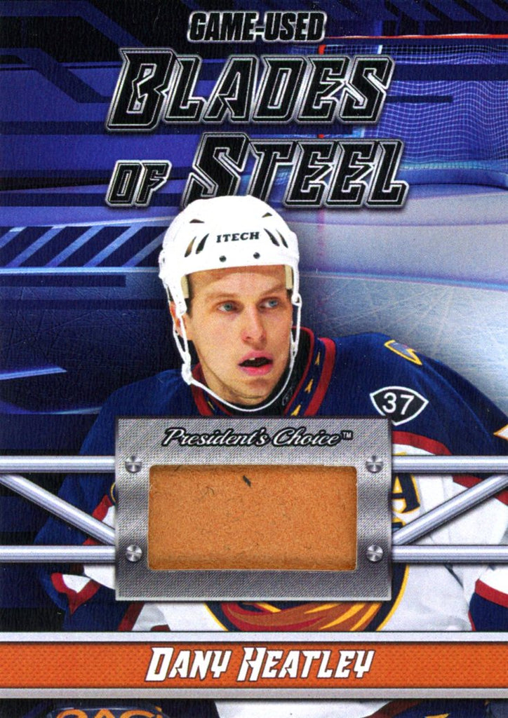 Dany Heatley Blades of Steel #'d 2/5