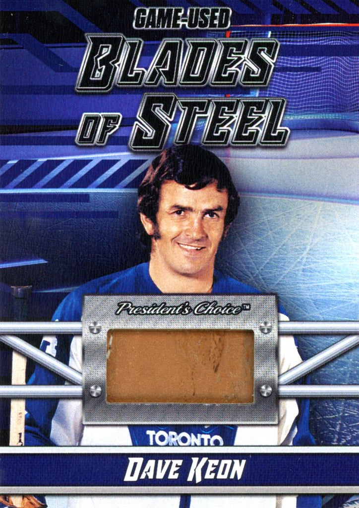 Dave Keon Blades of Steel #'d 1/5