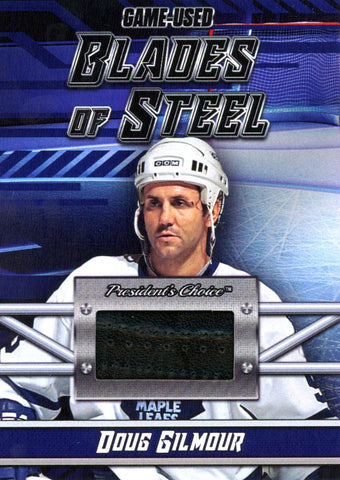 Doug Gilmour Blades of Steel #'d 3/5