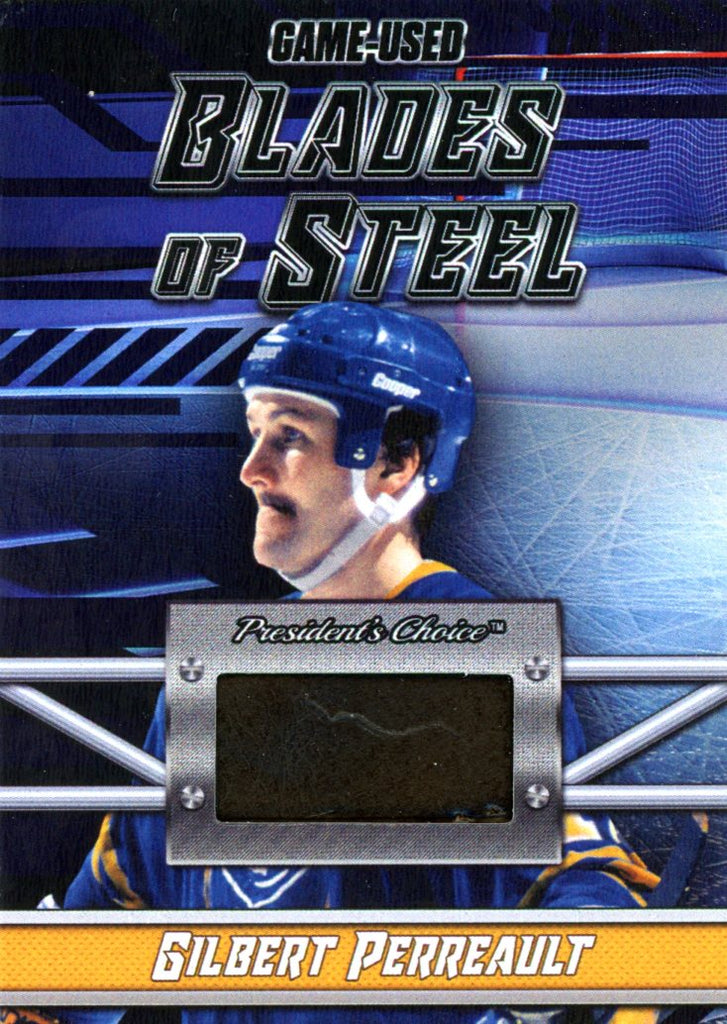 Gilbert Perreault Blades of Steel #'d 4/5