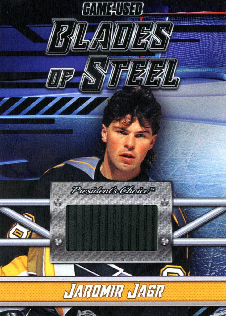 Jaromir Jagr Blades of Steel #'d 4/5