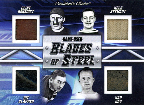 Benedict/ Stewart/ Clapper/ Day Blades of Steel #'d 1/3