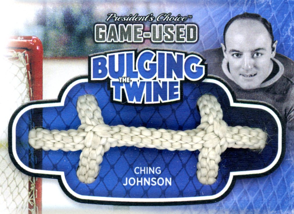 Ching Johnson Bulging The Twine #'d 1/5