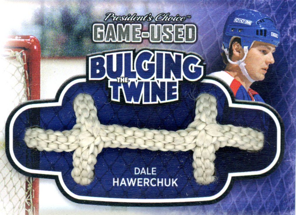 Dale Hawerchuk Bulging The Twine #'d 2/5