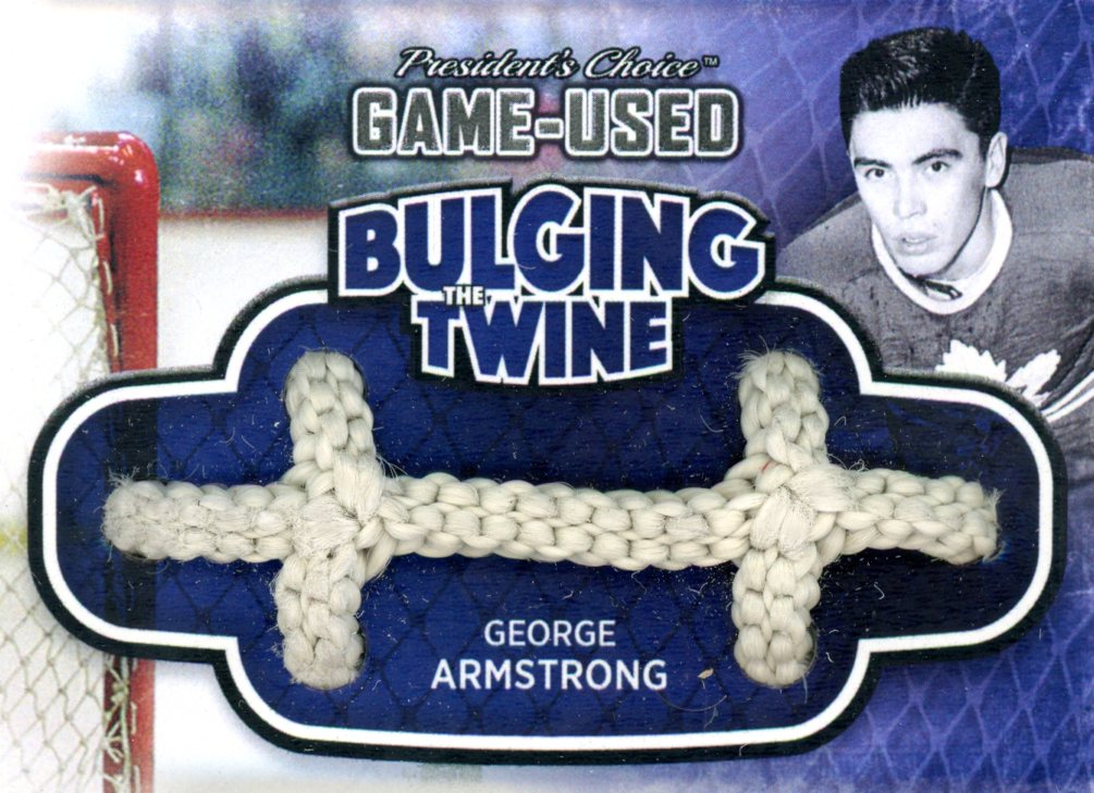 George Armstrong Bulging The Twine #'d 2/5