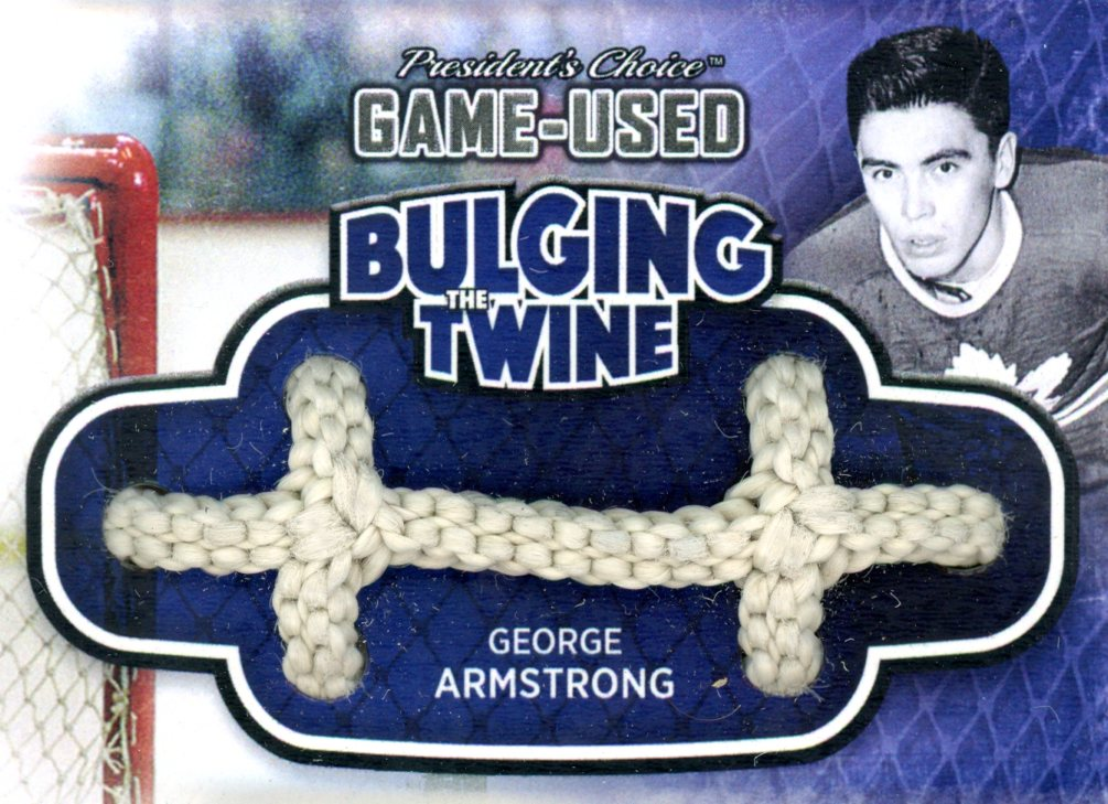 George Armstrong Bulging The Twine #'d 3/5