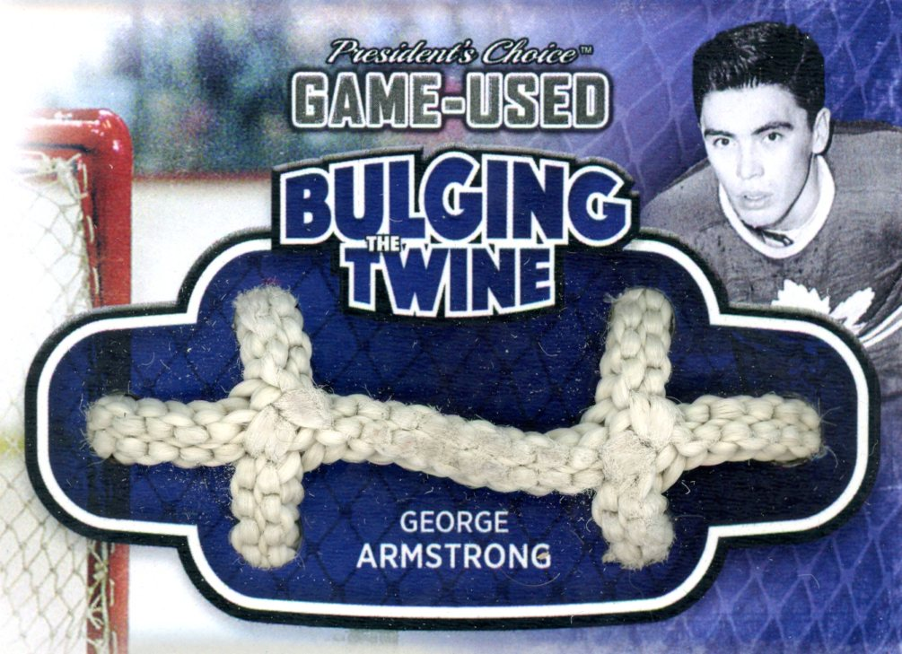 George Armstrong Bulging The Twine #'d 4/5