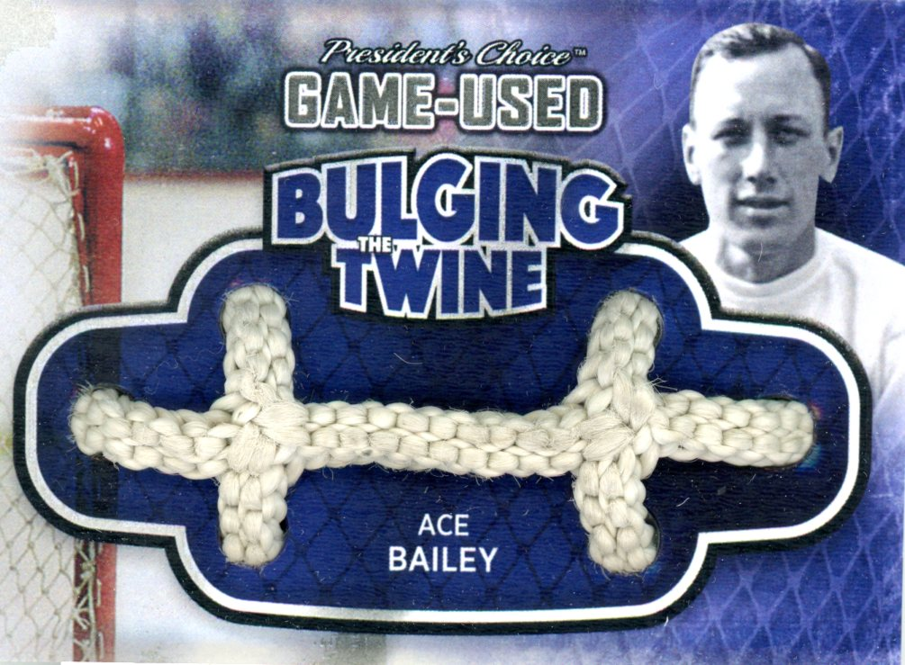 Ace Bailey Bulging The Twine #'d 2/5
