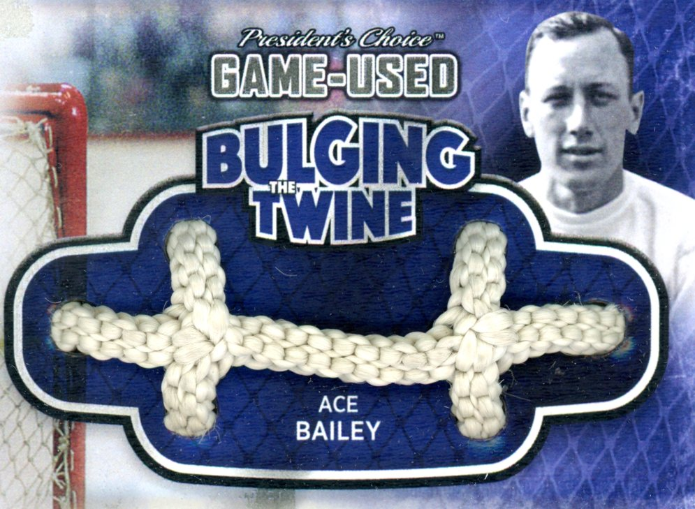 Ace Bailey Bulging The Twine #'d 4/5